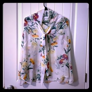 NY&Co Floral Blouse